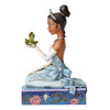Disney Traditions Resilient and Romantic (Tiana with Frog Figurine)