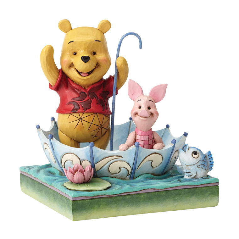 50 Years of Friendship - Pooh and Piglet Figurine - Disney Traditions by Jim Shore
