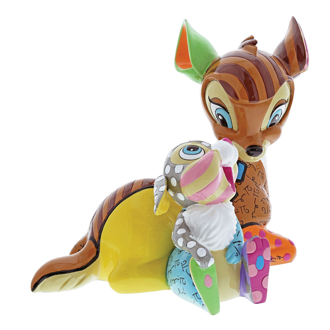 Bambi and Thumper Figurine by Disney Britto