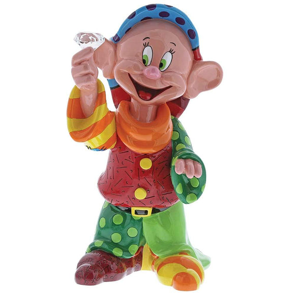Dopey with Diamond Figurine by Disney Britto