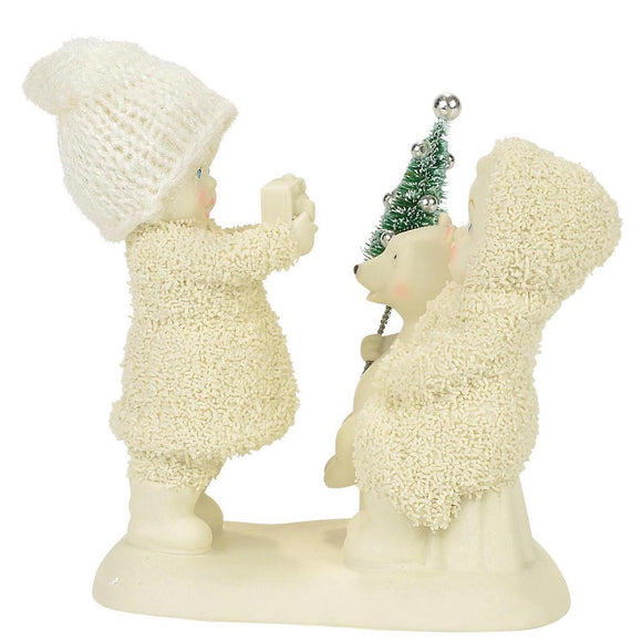 Snowbabies Say Cheese Figurine