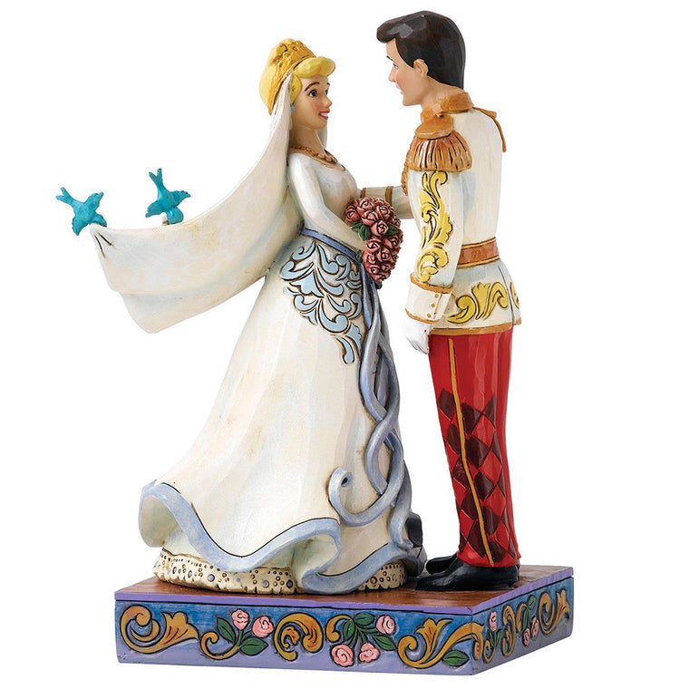 Disney Traditions Happily Ever After (Cinderella & Prince Figurine)