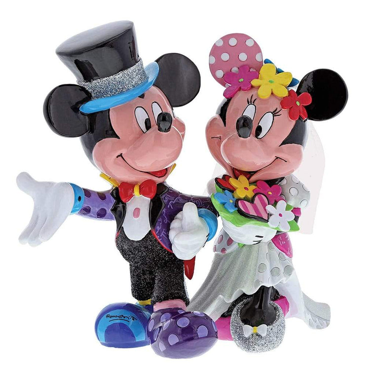 Mickey and Minnie Mouse Wedding Figurine by Disney Britto