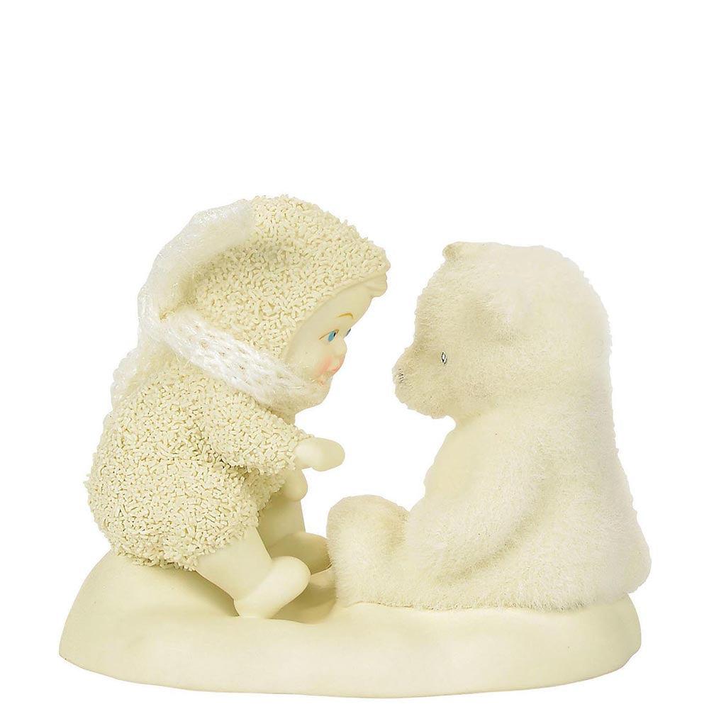 Snowbabies Beary Good Friends Figurine