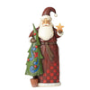 Jim Shore Folklore Santa With Tree Figurine