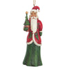 Jim Shore Folklore Santa With Tree (Hanging ornament)