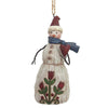 Jim Shore Folklore Snowman With Heart (Hanging ornament)