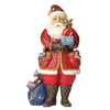 Jim Shore As You Wish (Santa holding presents) Figurine
