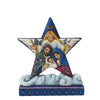 Jim Shore Holy Family Mini Star Figurine