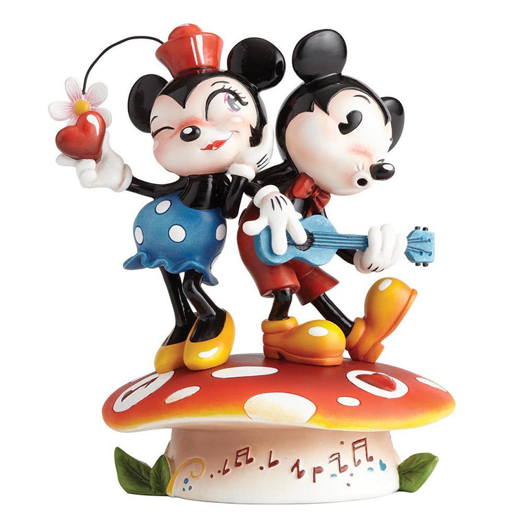 Miss Mindy Mickey Mouse & Minnie Mouse Figurine