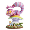 Miss Mindy Cheshire Cat & Alice Figurine