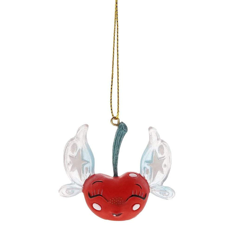 Miss Mindy Cherry Fairy Hanging Ornament