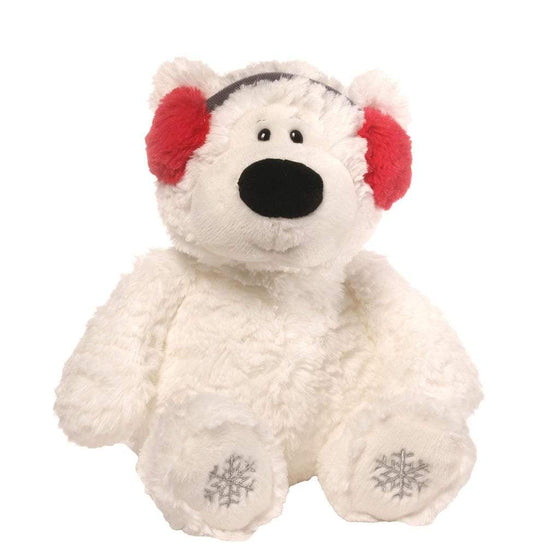 GUND Blizzard Bear In Ear Muffs Small