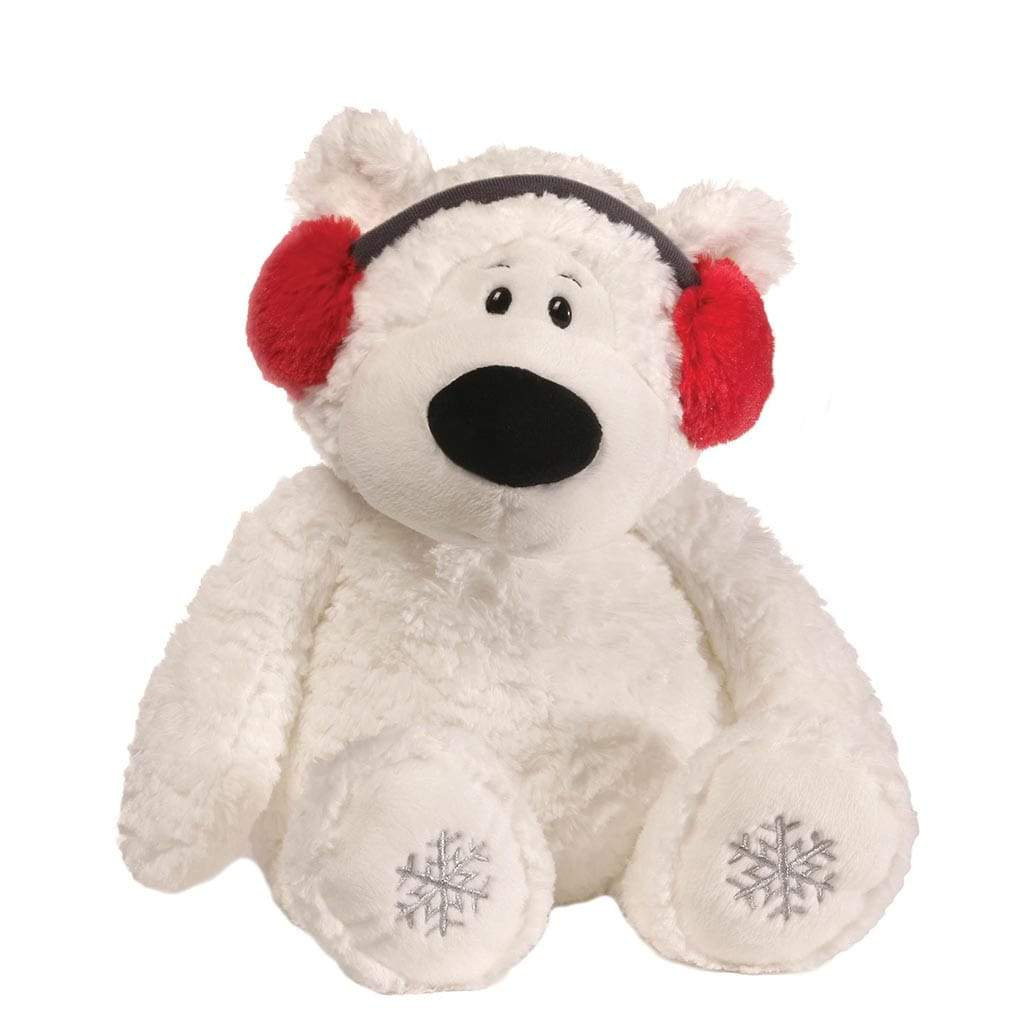 GUND Blizzard Bear In Ear Muffs Medium