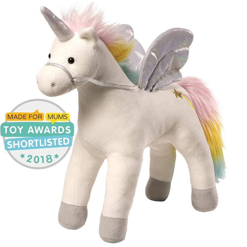 GUND My Magical Light And Sound Animated Unicorn Soft Toy
