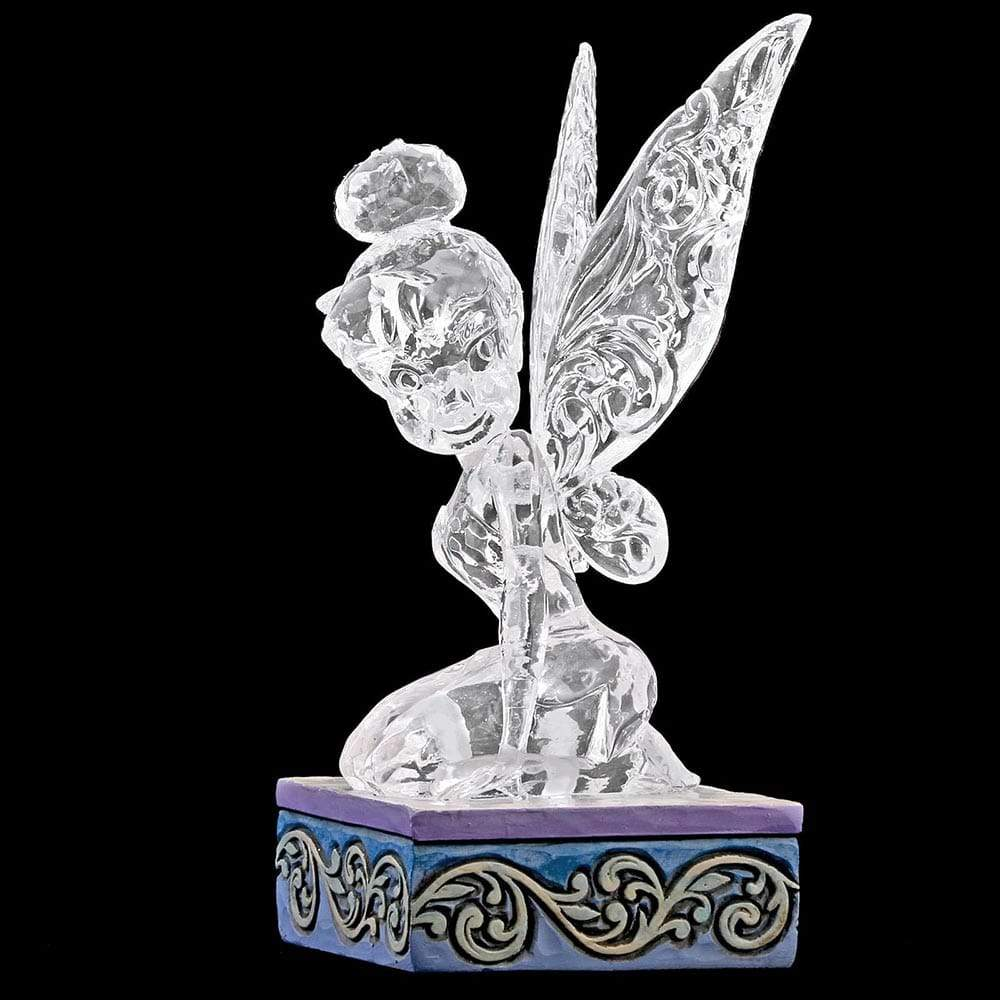 Disney Traditions Ice Bright Tinker Bell Figurine