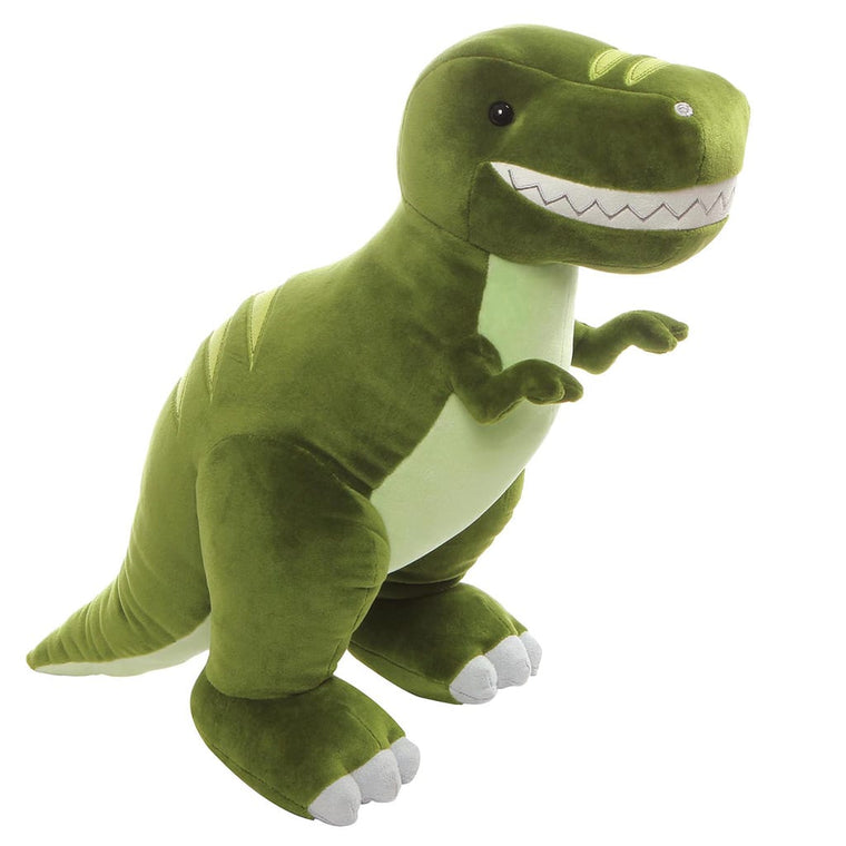 GUND Chomper Green Friendly Cuddly T-Rex Dino Soft Toy