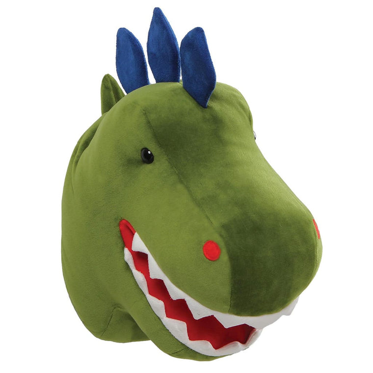 GUND Chomper Dino With Blue Spikes Room Decor Head Soft Toy