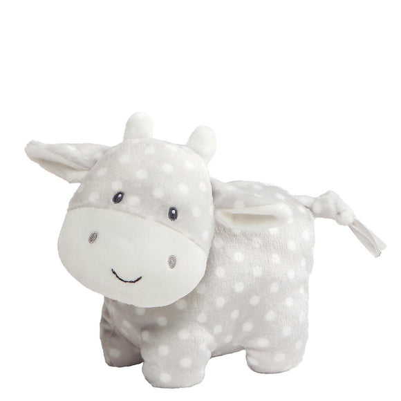 Baby GUND Roly Poly Soft Toy Cow With Nodding Head Feature