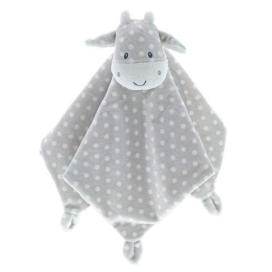 Baby GUND Roly Poly Lovey Cow With Cute Polka Dot Pattern