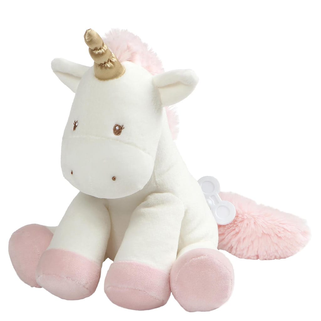 GUND Baby Luna Keywind Soft Toy Plays 'Hush Little Baby'