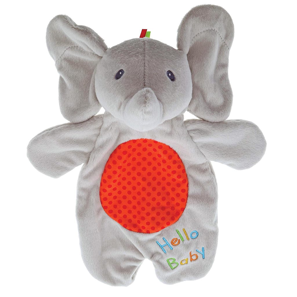 Baby GUND Flappy the Elephant Activity Lovey Cute Puppet