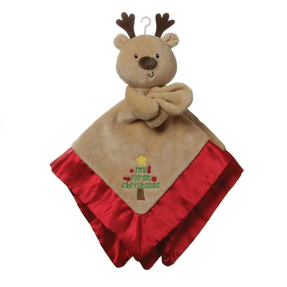 Gund My First Christmas Lovey Deer