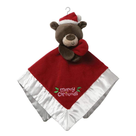 Gund Merry Christmas Lovey Santa Bear