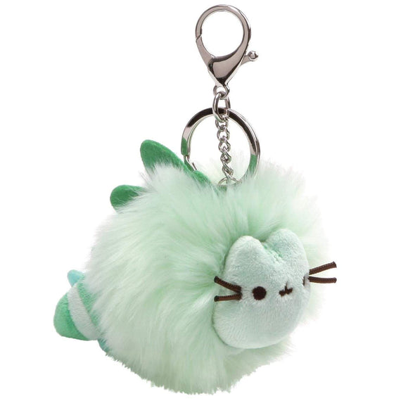 Pusheen Pusheenosaurs Green Fluffy Pom Soft Toy With Spikes