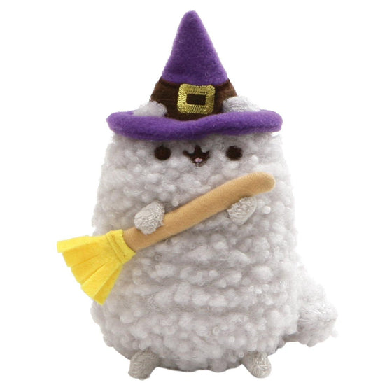 Pusheen Stormy Halloween Small Witch Soft Toy With Broom
