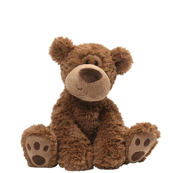 GUND Grahm Small Brown Huggable Bear Soft Toy Companion