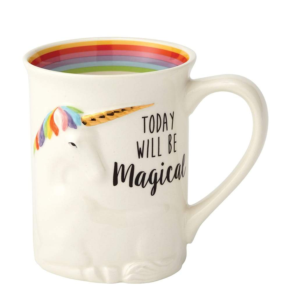 Magical Sculpted Unicorn Mug by Our Name Is Mud