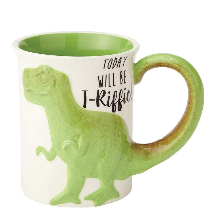 T-Riffic Tea Rex Sculpted Mug by Our Name Is Mud