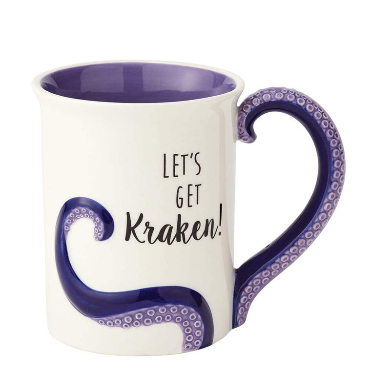 Kraken Sculpted Mug by Our Name Is Mud