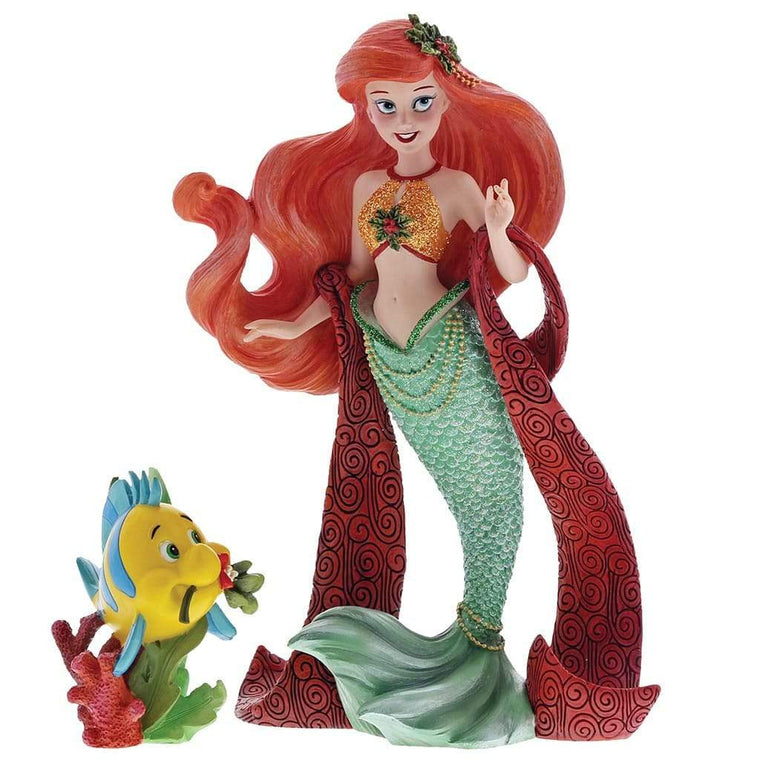 Disney Showcase Christmas Ariel Figurine