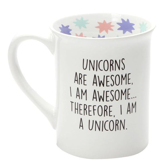 Unicorn Mug by Our Name Is Mud