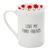 Love Glitter Mug by Our Name Is Mud