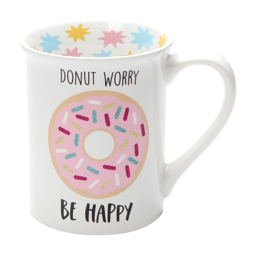 Donut Worry Mug by Our Name Is Mud