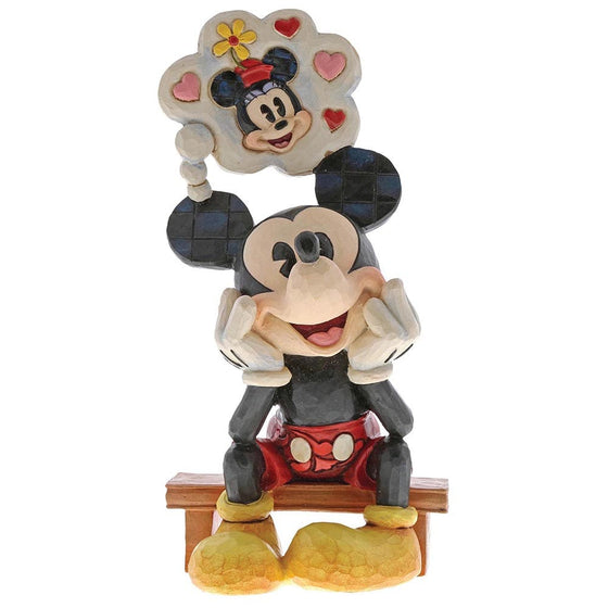Disney Traditions by Jim Shore Thinking of You - Mickey Mouse Figurine