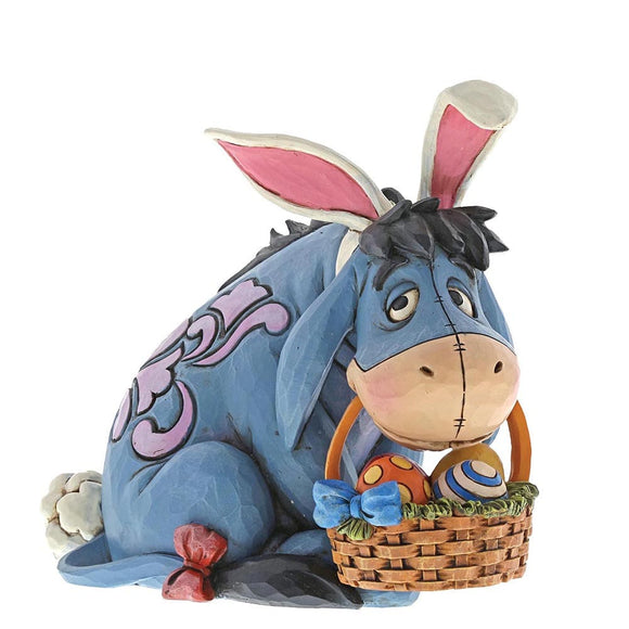 Disney Traditions Eeyore Cottontail (Eeyore Figurine)