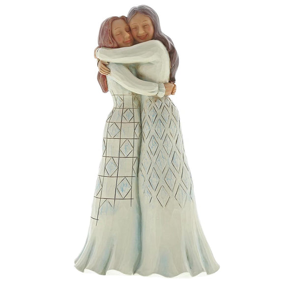 Jim Shore The Best Kind of Friends (Two girls hugging) Figurine