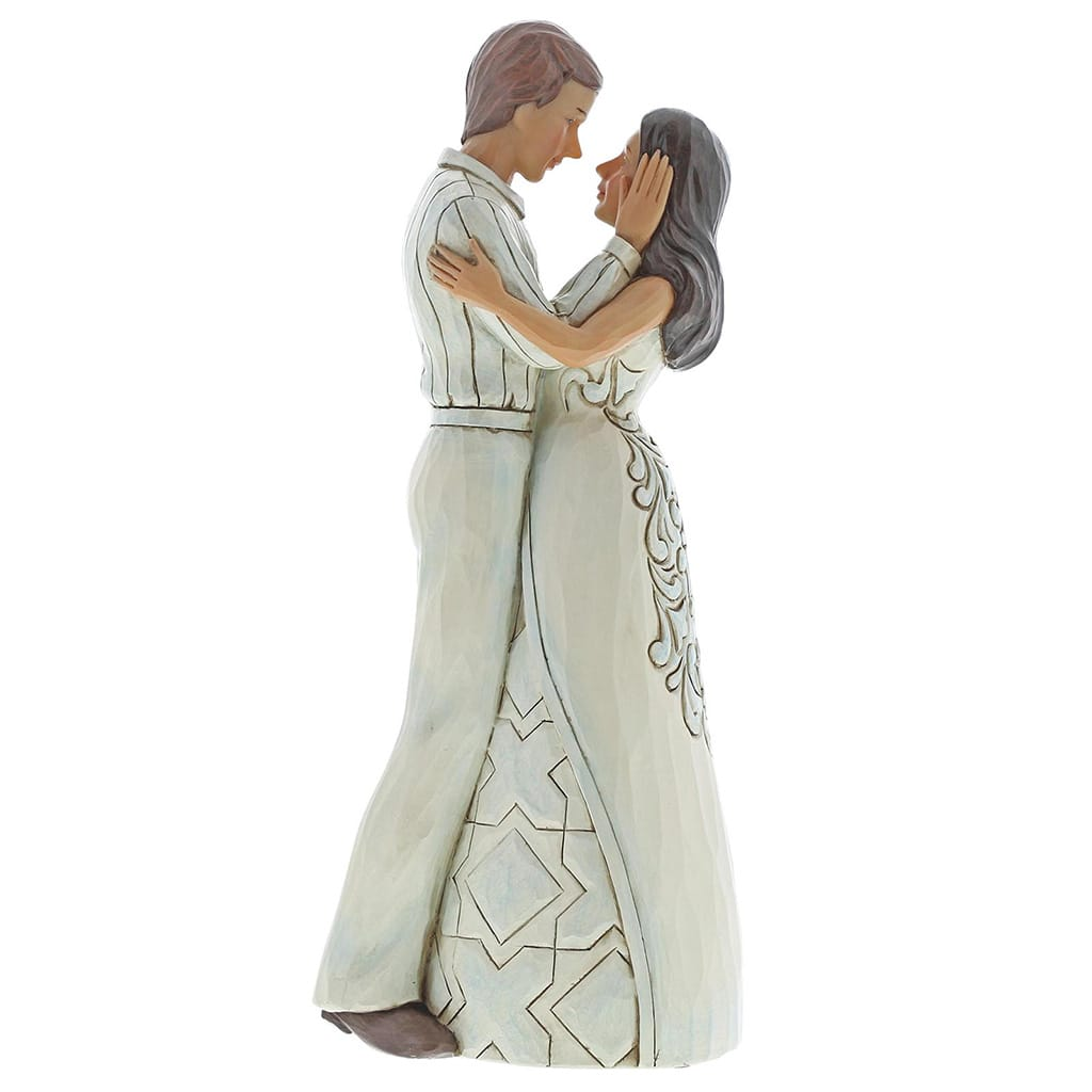 Jim Shore Our Love Is Everlasting (Couple embracing) Figurine