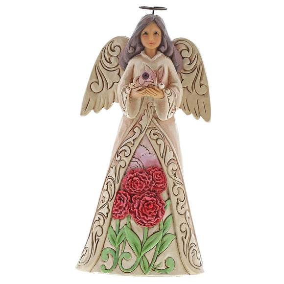 Jim Shore January Angel Figurine
