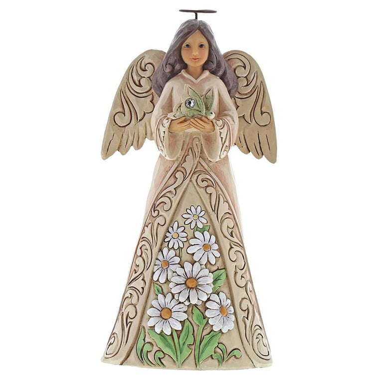 Jim Shore April Angel Figurine