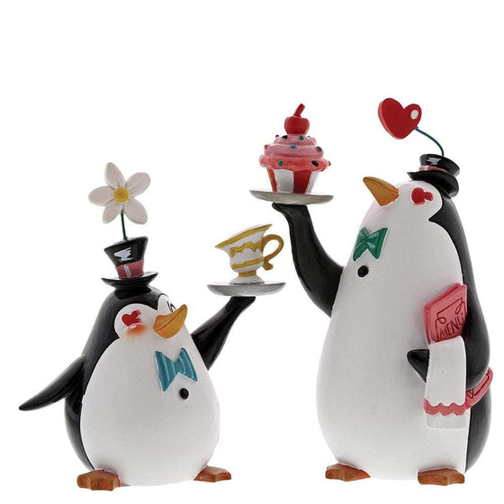 Penguin Waiters Figurine by Miss Mindy Presents Disney