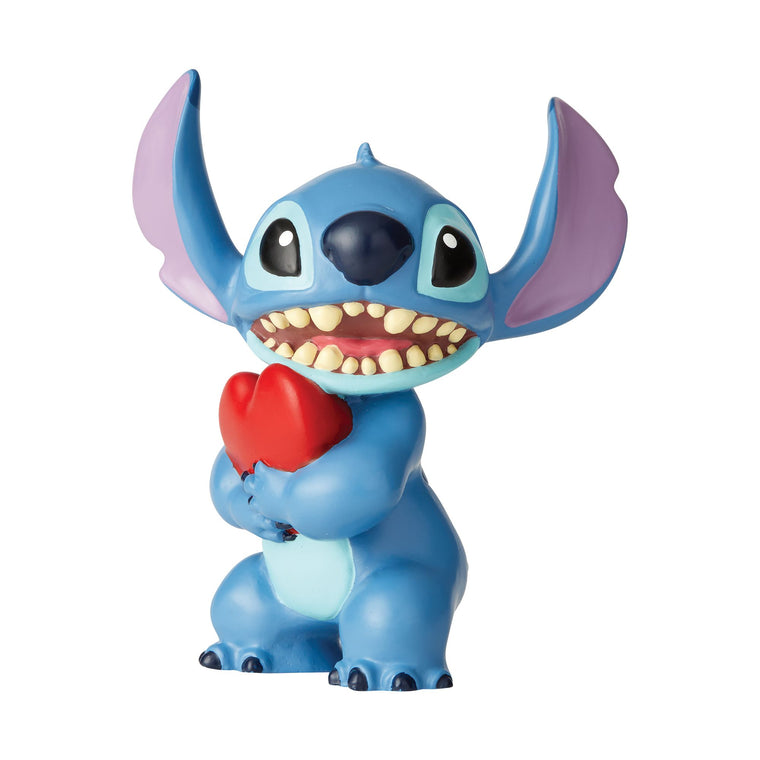Stitch Heart Figurine by Disney Showcase