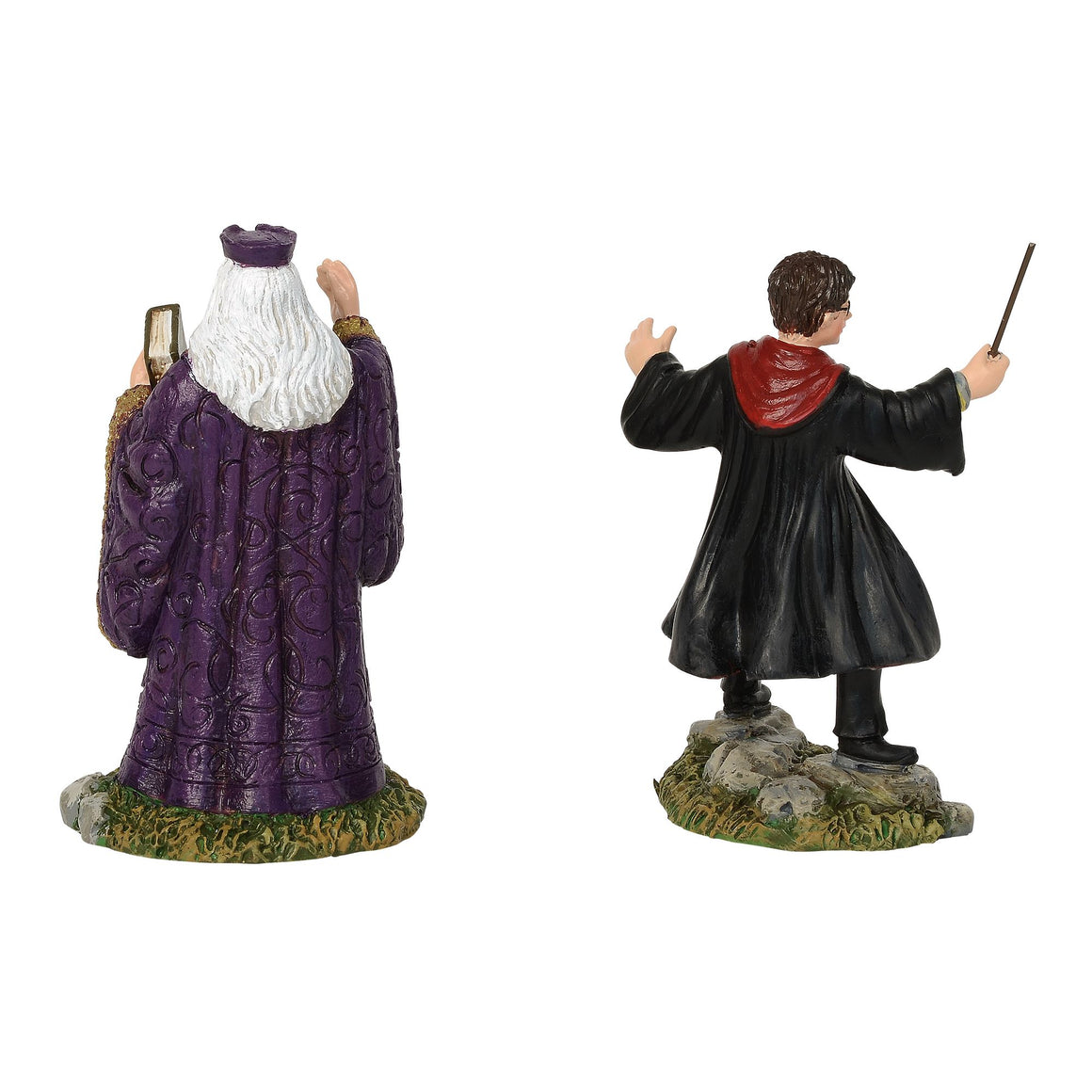 Harry and The Headmaster Figurine - Harry Potter Village by D56