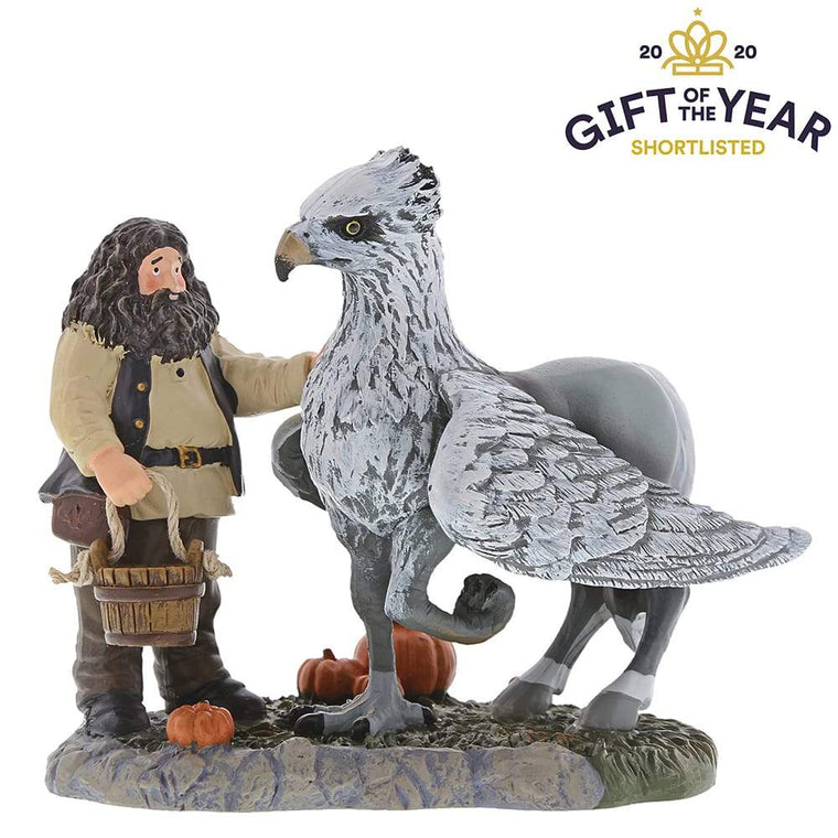 A Proud Hippogriff, Indeed Figurine - Harry Potter Village by D56