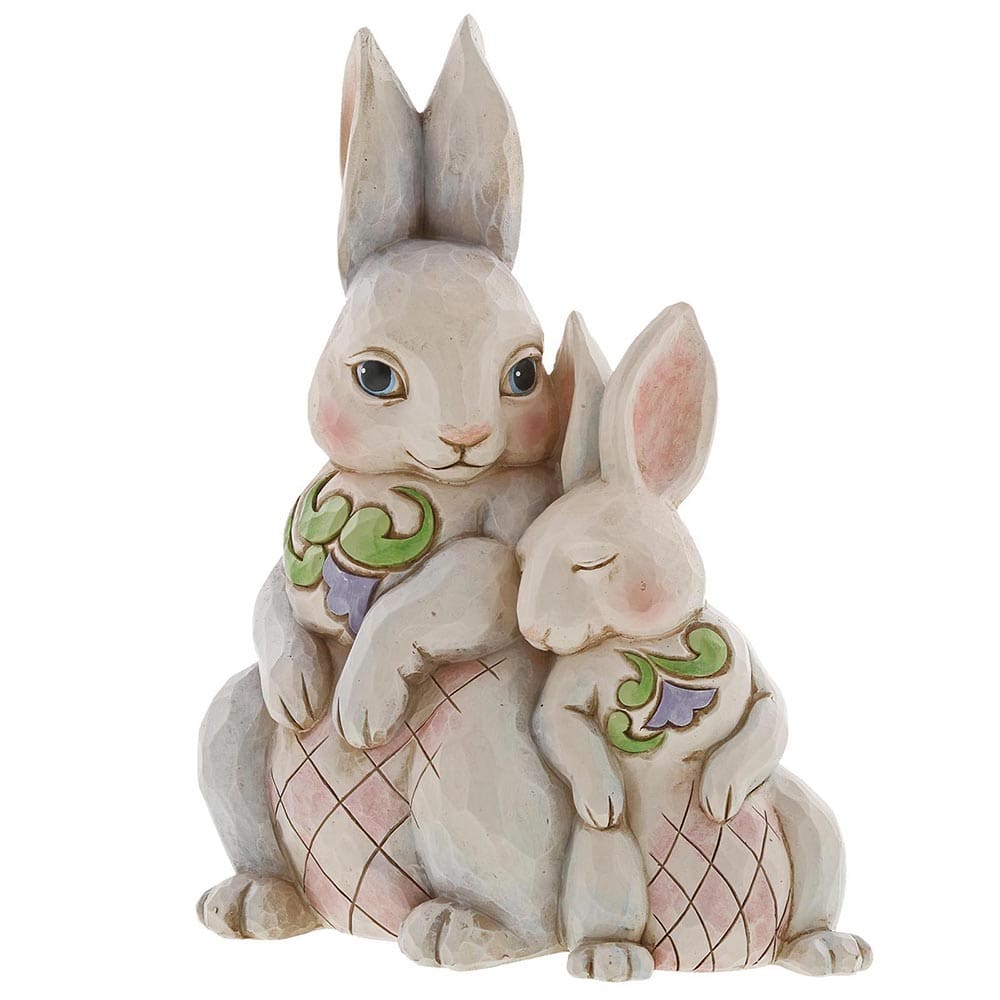 Forever My Honey Bunny - Double Bunnies Figurine - Heartwood Creek by Jim Shore