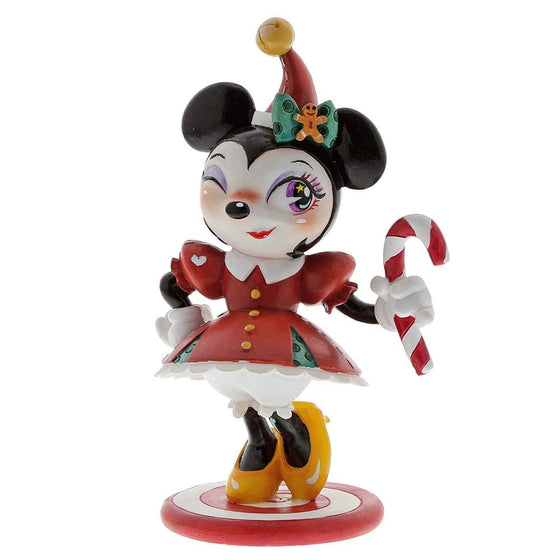 Miss Mindy Christmas Minnie Mouse Figurine